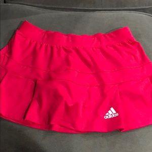 Adidas tennis skort pink size medium